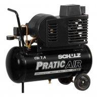 Compressor de Ar CSI 7,4/30 Litros Pratic Air SCHULZ